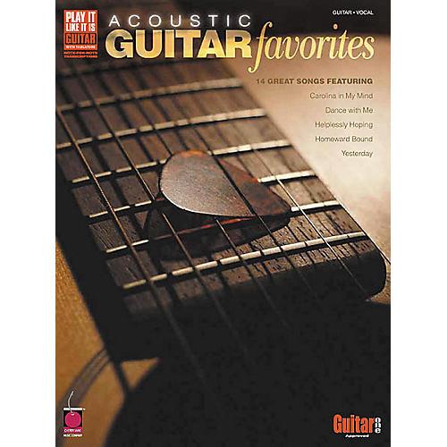 Cherry Lane Acoustic Guitar Favorites Guitar Tab Book
