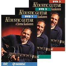 Homespun Acoustic Guitar Jorma Kaukonen 3 DVD Set