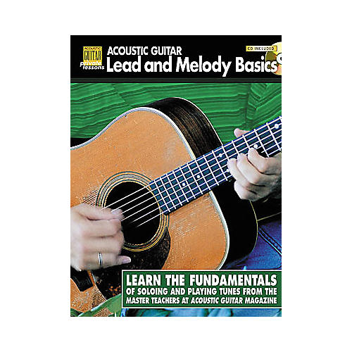 String Letter Publishing Acoustic Guitar Lead and Melody Basics (Book/CD)