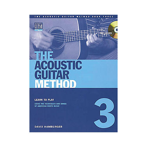 String Letter Publishing Acoustic Guitar Method 3 (Book/CD)