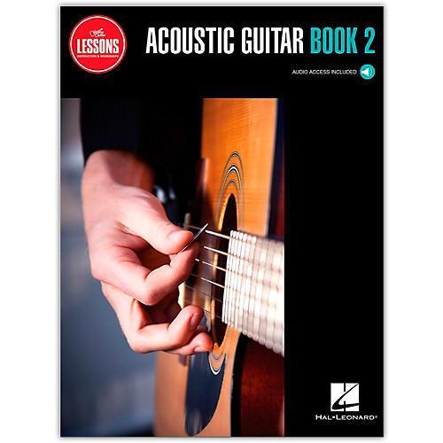 Guitar Center Acoustic Guitar Method Book 2 - Guitar Center Lessons (Book/Audio)