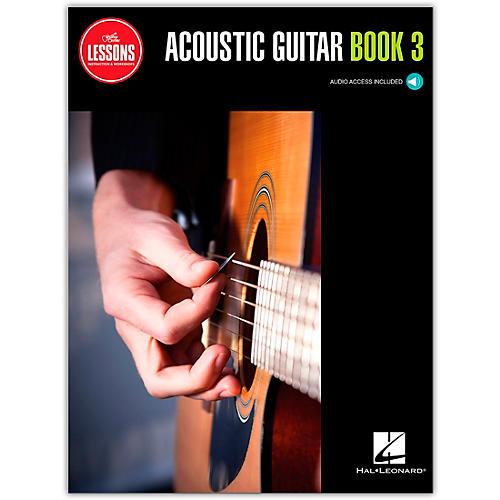 Guitar Center Acoustic Guitar Method Book 3 - Guitar Center Lessons (Book/Audio)