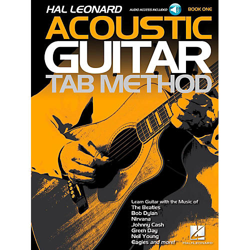 Hal Leonard Acoustic Guitar Tab Method Book 1 Book w/ Online Audio