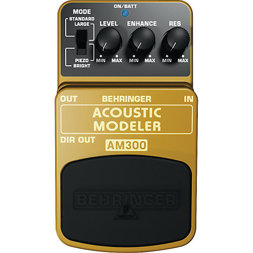 Behringer Acoustic Modeler AM300 Guitar Effects Pedal