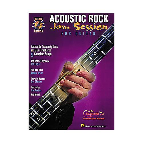 Hal Leonard Acoustic Rock Jam Session (Book/CD)
