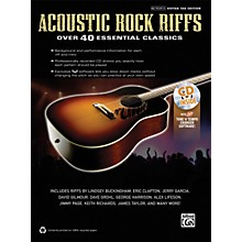 Alfred Acoustic Rock Riffs Guitar Book & CD