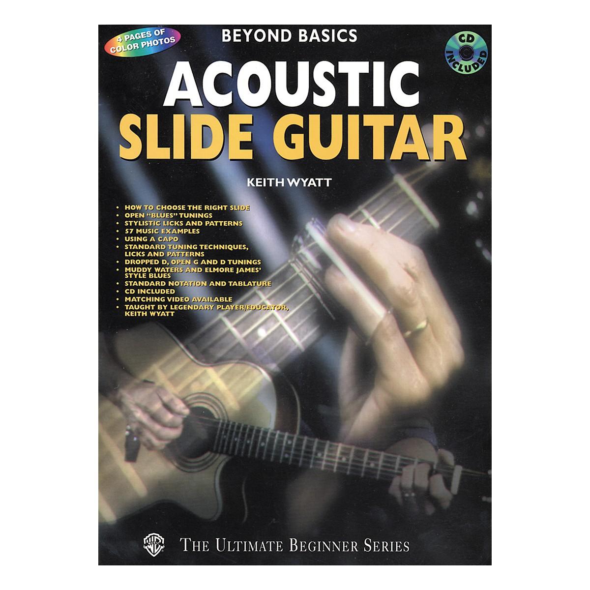 Alfred Acoustic Slide Guitar Book/CD