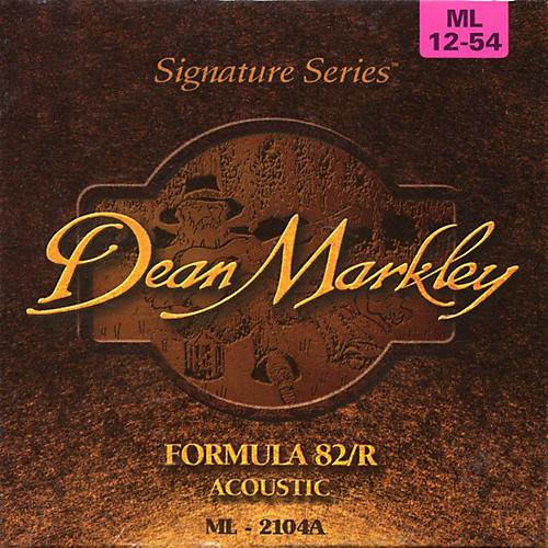 Dean Markley Acoustic formula 82R Medium Light Strings