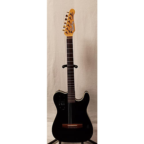 used godin acousticaster acoustic electric guitar guitar center. Black Bedroom Furniture Sets. Home Design Ideas