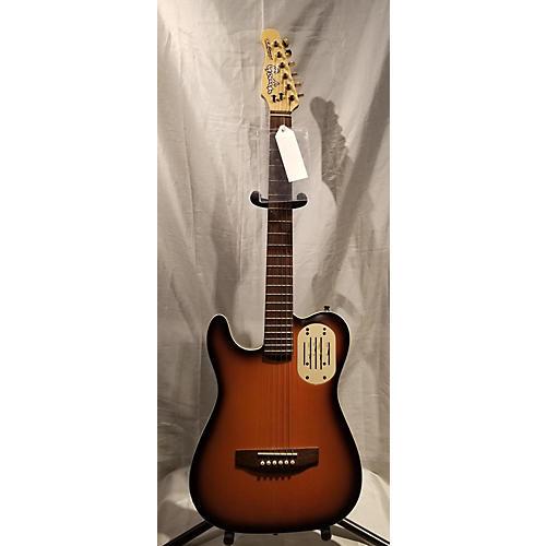 used godin acousticaster left handed acoustic electric guitar guitar center. Black Bedroom Furniture Sets. Home Design Ideas