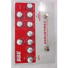 BBE Acoustimax Sonic Maximizer/Preamp Pedal Guitar Preamp