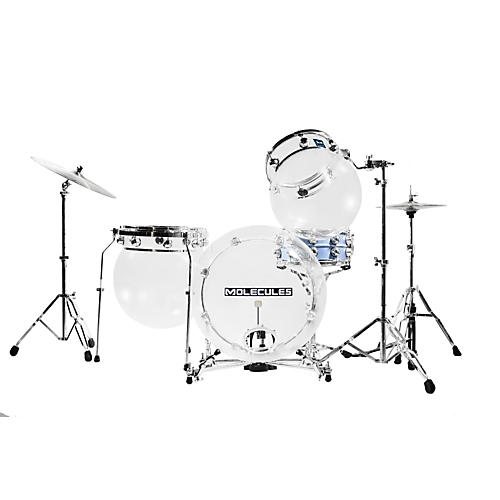Molecules Drums Acrylic 3-Piece Shell Pack