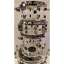 Crush Drums & Percussion Acrylic Series Drum Kit