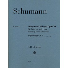 G. Henle Verlag Adagio and Allegro, Op. 70 Henle Music Composed by Robert Schumann Edited by Ernst Herttrich