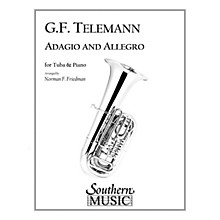 Southern Adagio and Allegro Southern Music Series Composed by Georg Philipp Telemann Arranged by Norman Friedman