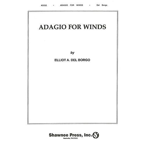 Hal Leonard Adagio for Winds Concert Band Level 3 Composed by Elliot Del Borgo