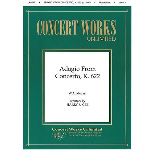 Hal Leonard Adagio from Concerto, K. 622 Clarinet/Piano Clarinet Arranged by Harry Gee
