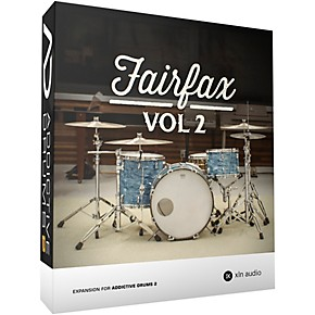 XLN Audio Addictive Drums 2: Fairfax Vol  2 Software Download