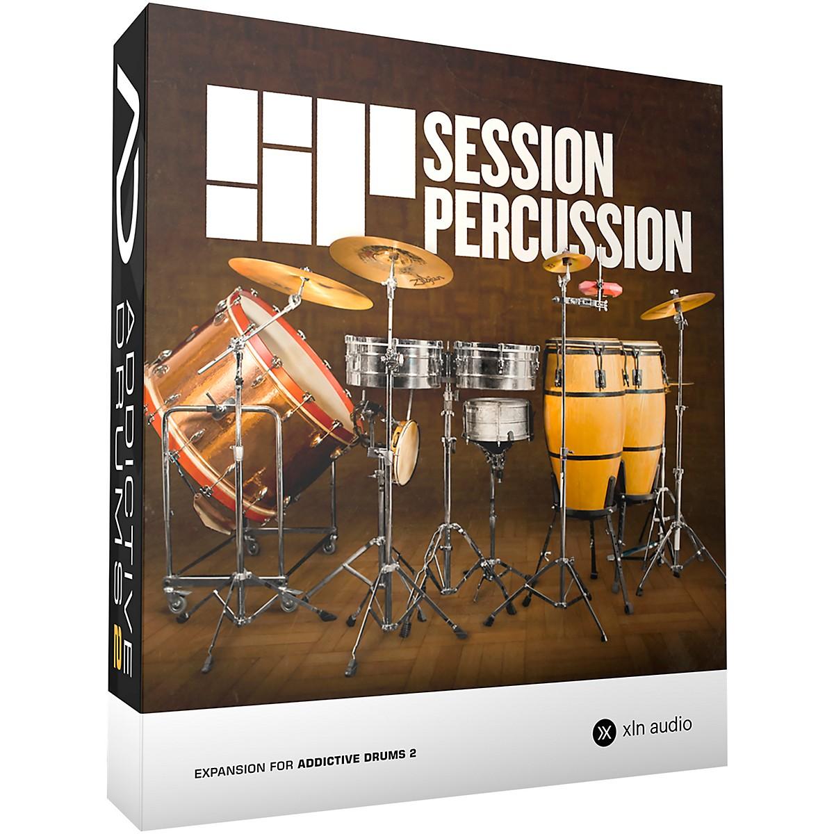 XLN Audio Addictive Drums 2  Session Percussion