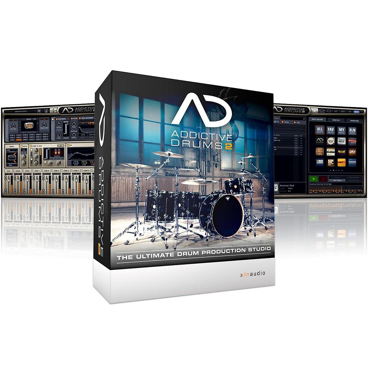 XLN Audio Addictive Drums 2 Software Download