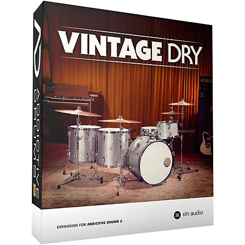XLN Audio Addictive Drums 2  Vintage Dry