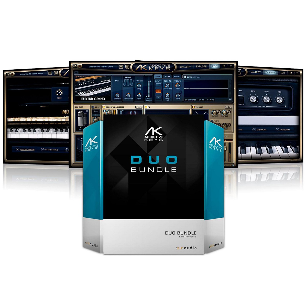 XLN Audio Addictive Keys: Duo Bundle Software Download