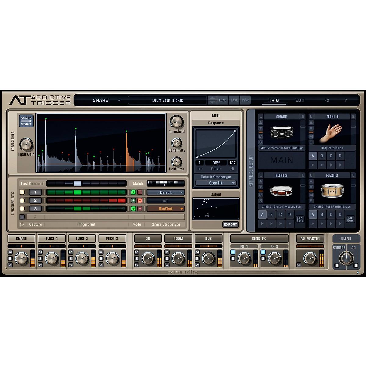 XLN Audio Addictive Trigger: Drum Vault