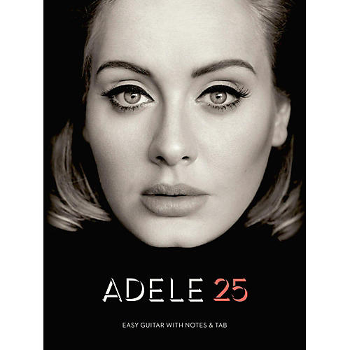 Hal Leonard Adele - 25 (Easy Guitar with Tab)