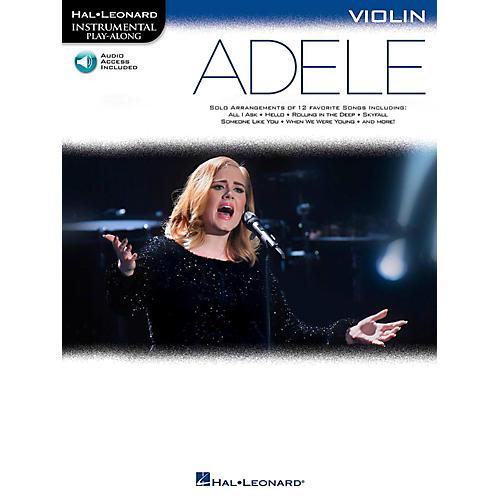 Hal Leonard Adele For Violin - Instrumental Play-Along Book/Online Audio