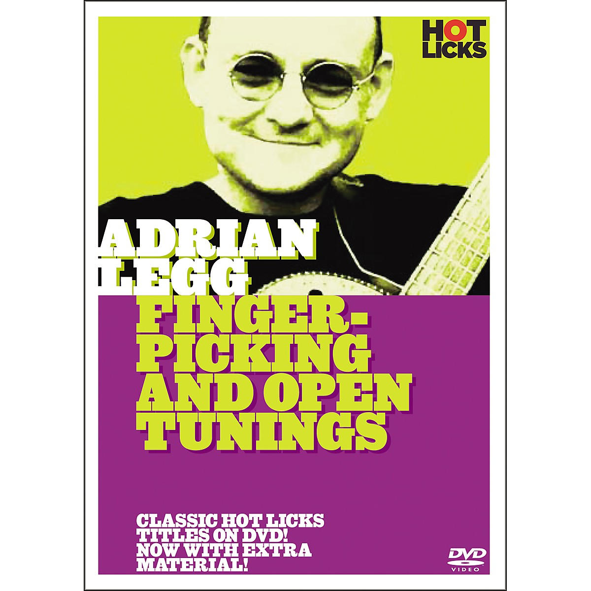 Hot Licks Adrian Legg: Fingerpicking and Open Tunings DVD