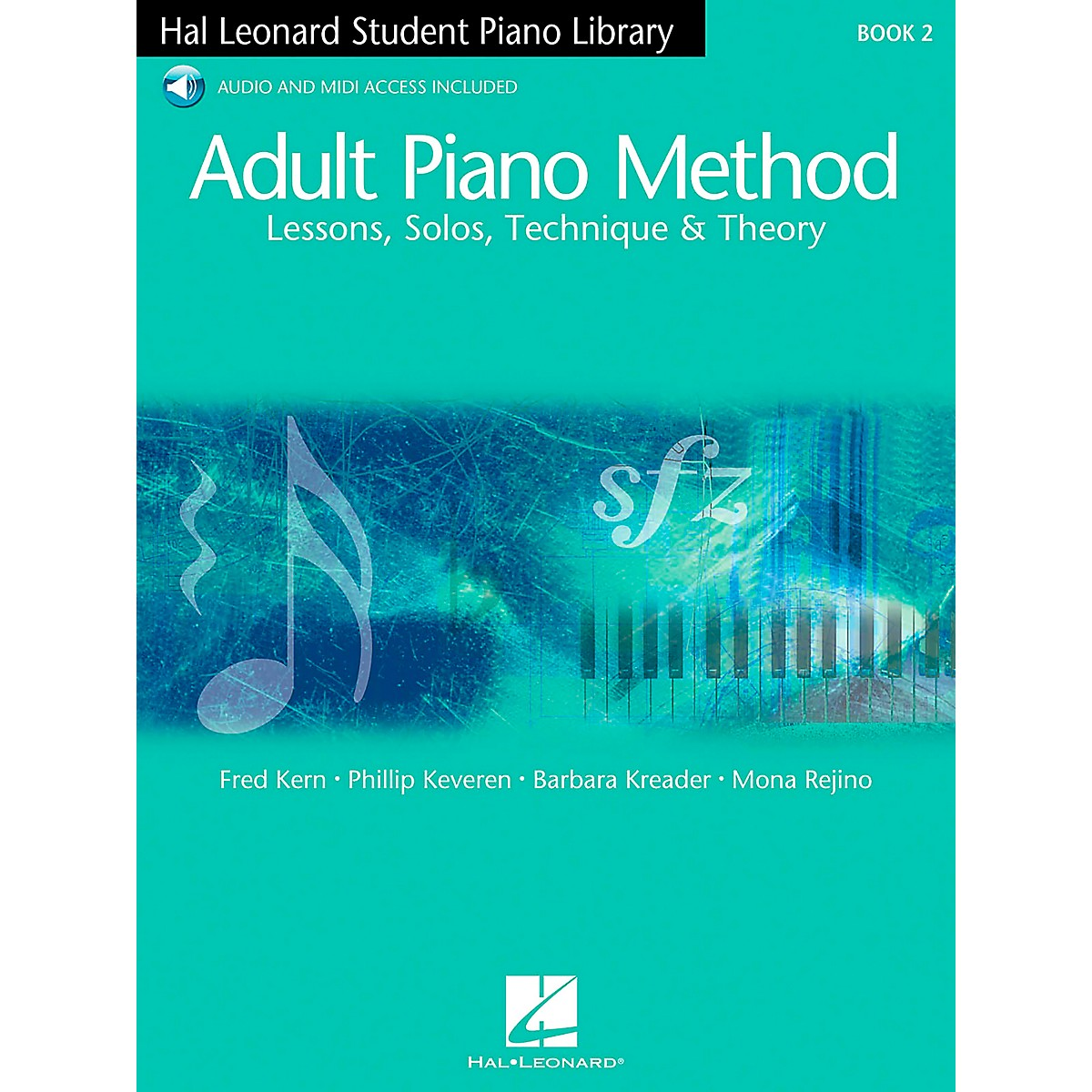 Hal Leonard Adult Piano Method Book 2 Book/2Online Audios Hal Leonard Student Piano Library
