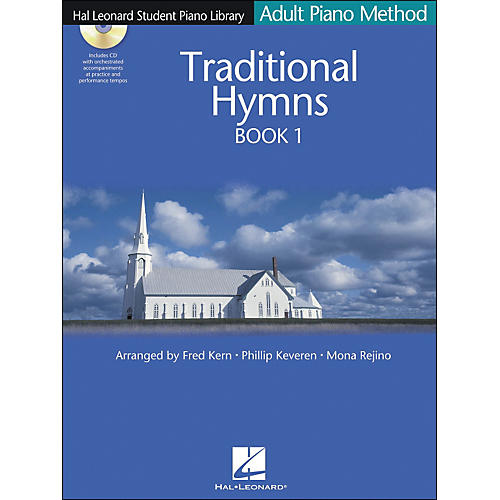 Hal Leonard Adult Piano Method Traditional Hymns Book 1 Book/CD Hal Leonard Student Piano Library