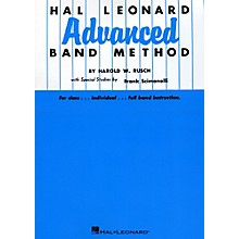 Hal Leonard Advanced Band Method B Flat Cornet & Trumpet