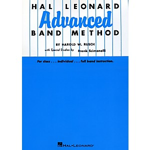 Click here to buy Hal Leonard Advanced Band Method B Flat Cornet and Trumpet by Hal Leonard.