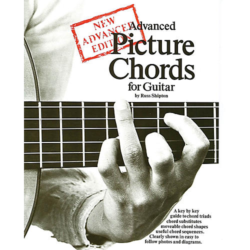 Music Sales Advanced Picture Chords for Guitar Music Sales America Series Softcover Written by Russ Shipton