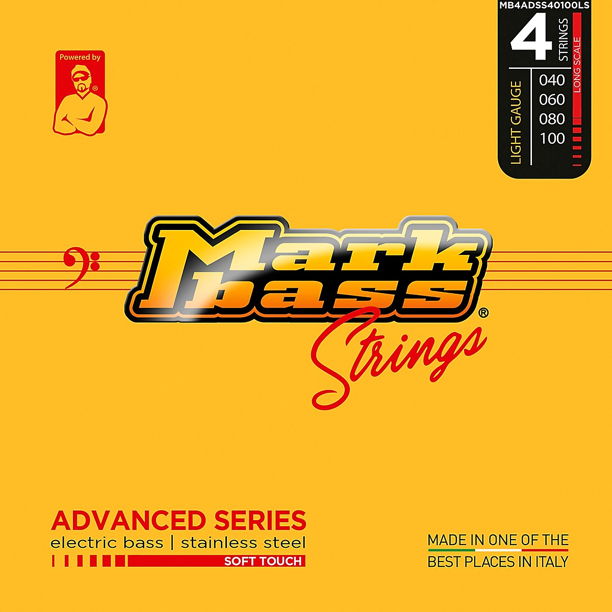 Markbass Advanced Series Soft Touch Electric Bass Stainless Steel Strings