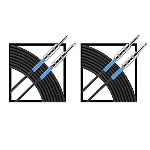 Livewire Advantage Instrument Cable Regular 10 ft. Black 2-Pack