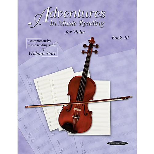Alfred Adventures in Music Reading for Violin Book III