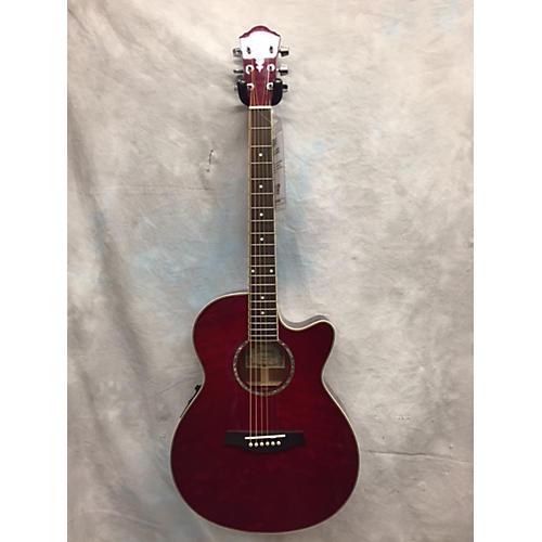 Ibanez Aeg25e-trd-3t Acoustic Guitar
