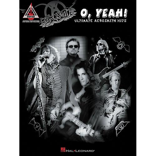 Hal Leonard Aeorsmith - O Yeah! Ultimate Aerosmith Hits Guitar Tab Songbook