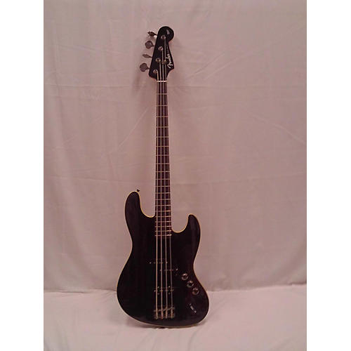 used fender aerodyne 4 string jazz bass electric bass guitar black guitar center. Black Bedroom Furniture Sets. Home Design Ideas