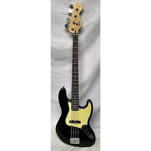 used squier affinity jazz bass electric bass guitar black guitar center. Black Bedroom Furniture Sets. Home Design Ideas