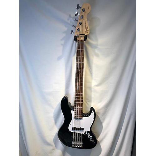 used squier affinity jazz bass v 5 string electric bass guitar black guitar center. Black Bedroom Furniture Sets. Home Design Ideas