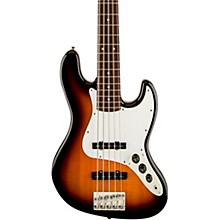Affinity Jazz Bass V Brown Sunburst