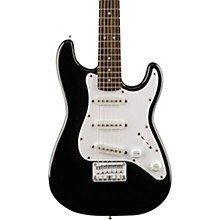 Affinity Mini Strat Electric Guitar with Rosewood Fingerboard Black