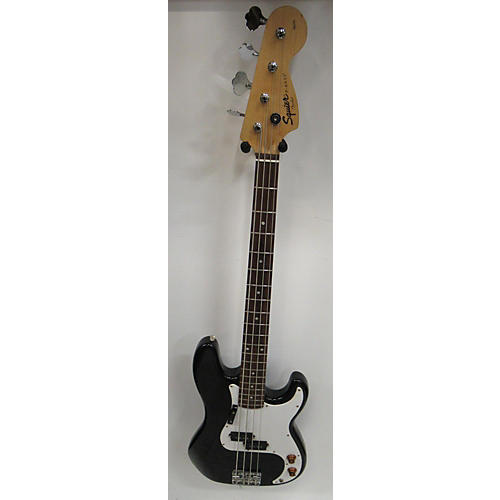 used squier affinity precision bass electric bass guitar black guitar center. Black Bedroom Furniture Sets. Home Design Ideas