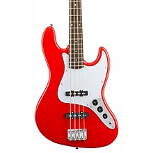 Affinity Series Jazz Bass Guitar Race Red