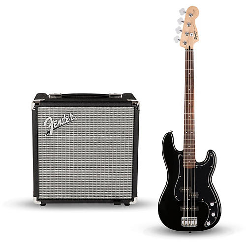 Squier Affinity Series Pj Bass Pack With Fender Rumble 15w 1x8 Bass