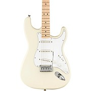 Affinity Series Stratocaster Maple Fingerboard Electric Guitar Olympic White