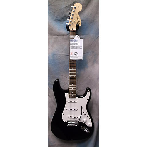 Squier Affinity Stratocaster Black Solid Body Electric Guitar
